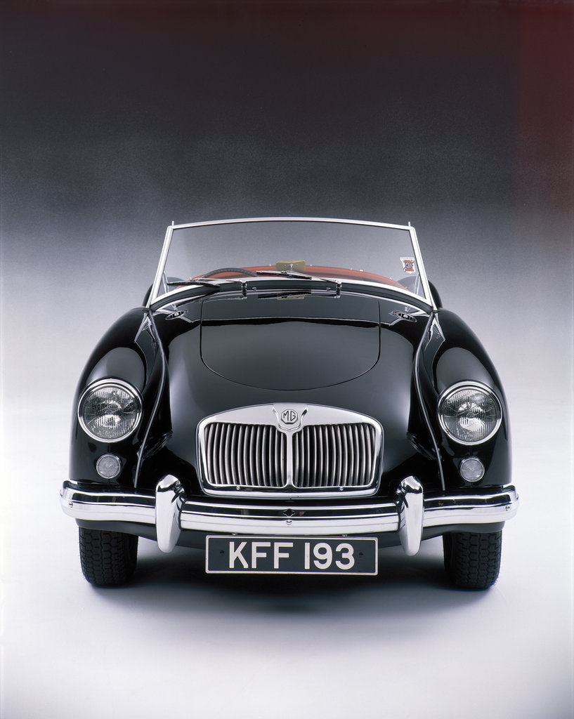 Detail of 1959 MGA Twin Cam by Unknown