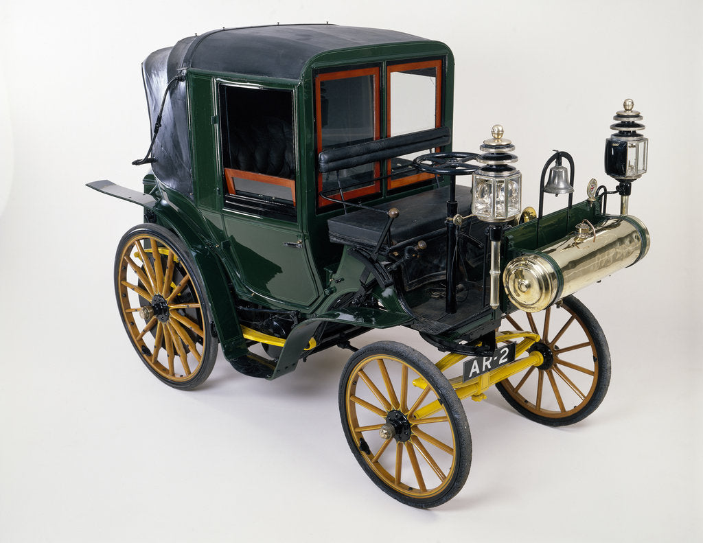 Detail of 1898 Canstatt Daimler by Unknown
