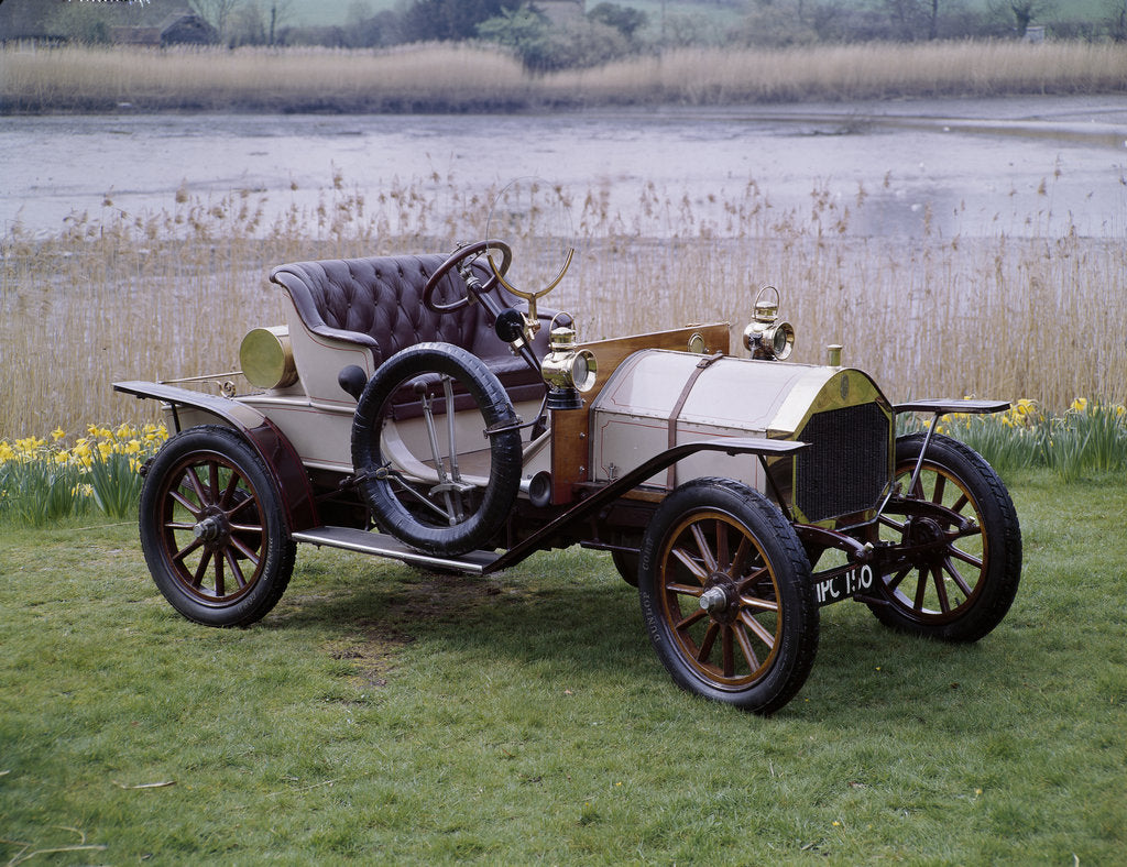 Detail of A 1909 Humber 8hp by Unknown