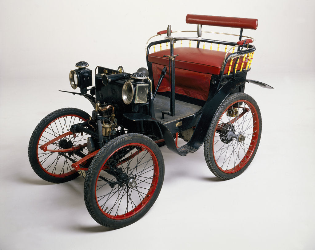 Detail of An 1899 Renault 1.75hp by Unknown