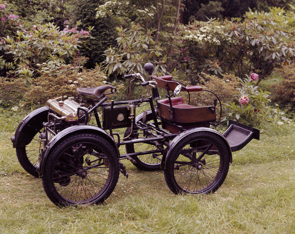 Detail of An 1898-1902 Enfield Quad by Unknown