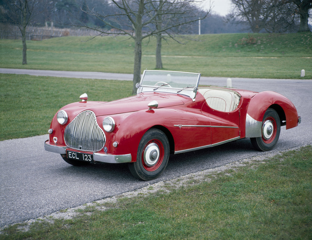 Detail of A 1950 Alvis TB21 sportscar by Unknown