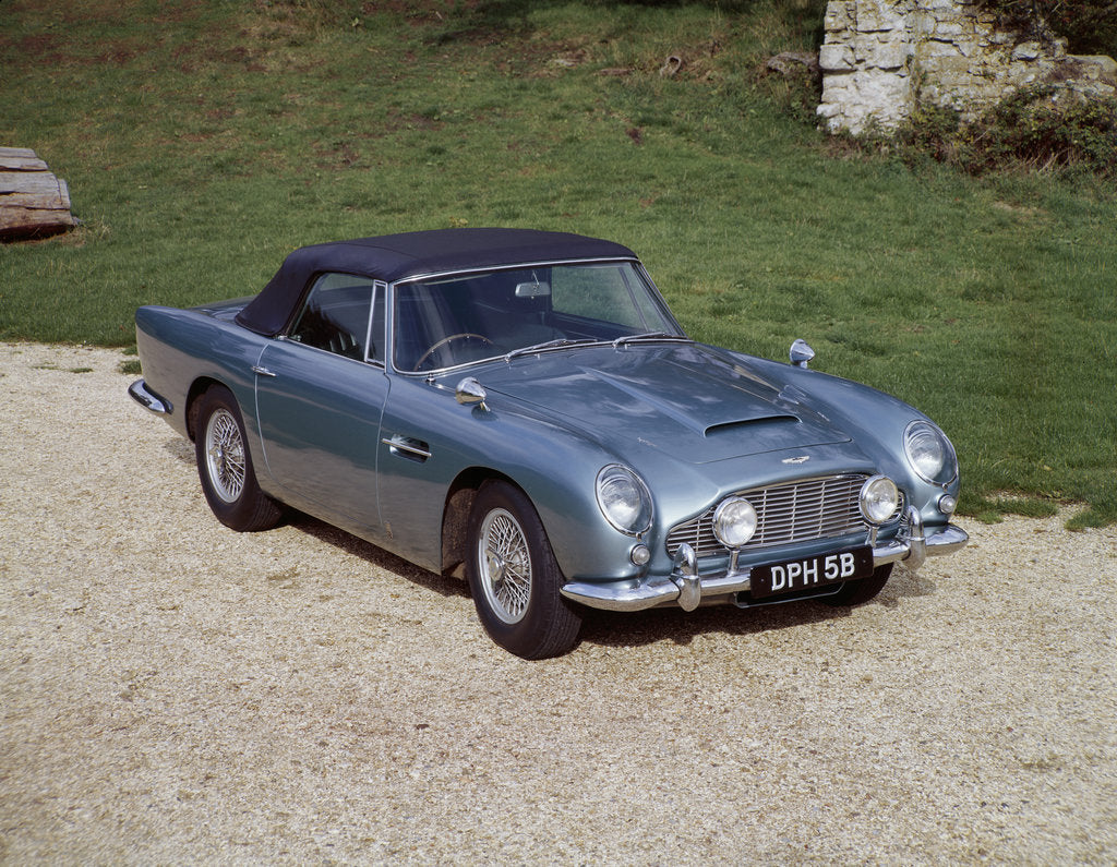 A 1964 Aston Martin DB5 sportscar by Unknown