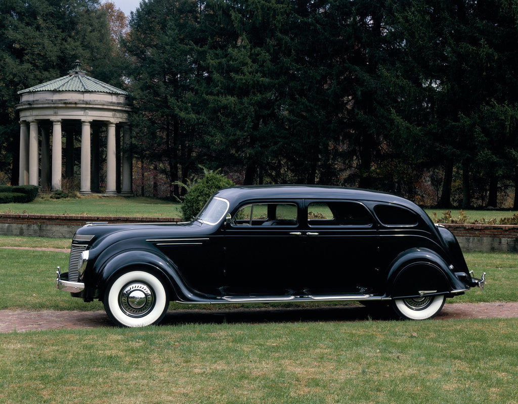 Detail of A 1937 Imperial Airflow by Unknown