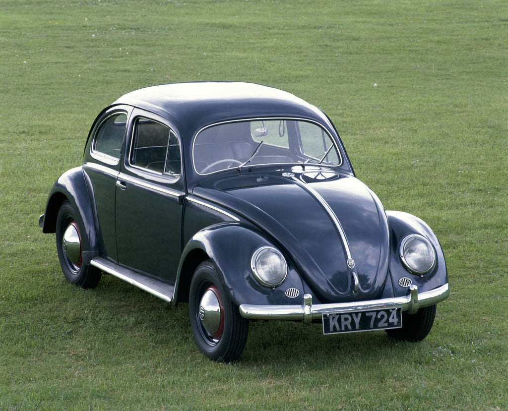 Detail of A 1953 Volkswagen Export Type 1 Beetle by Unknown