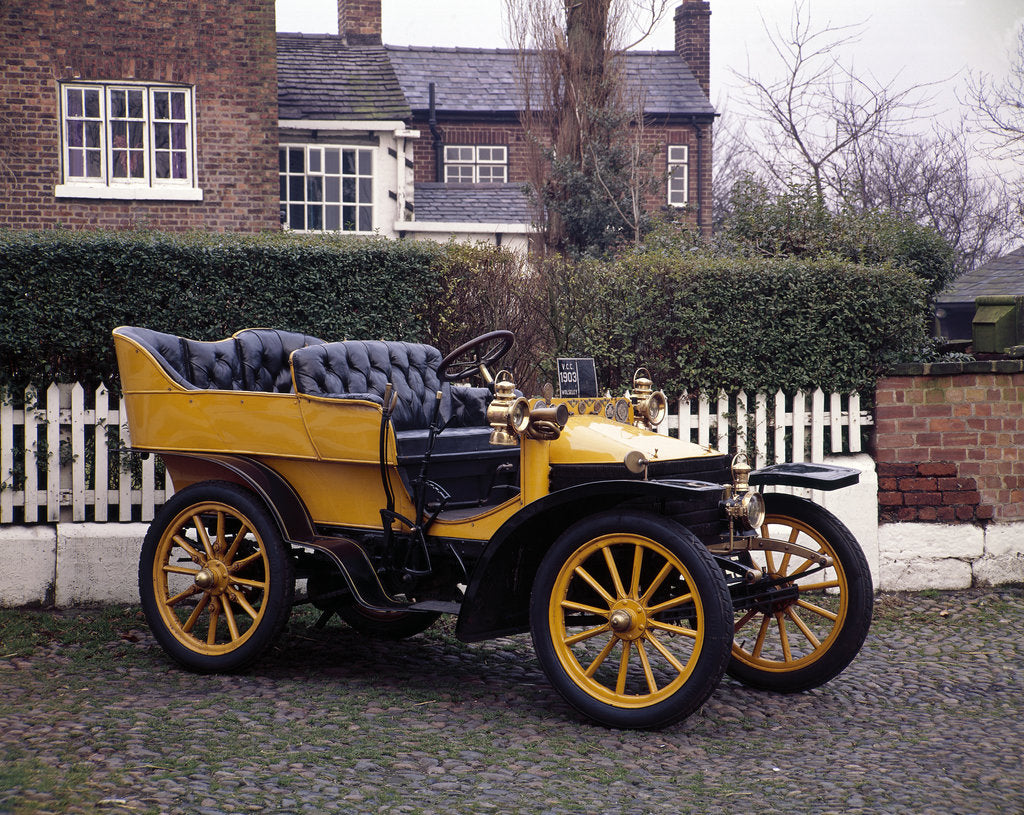 Detail of A 1903 Wolseley by Unknown