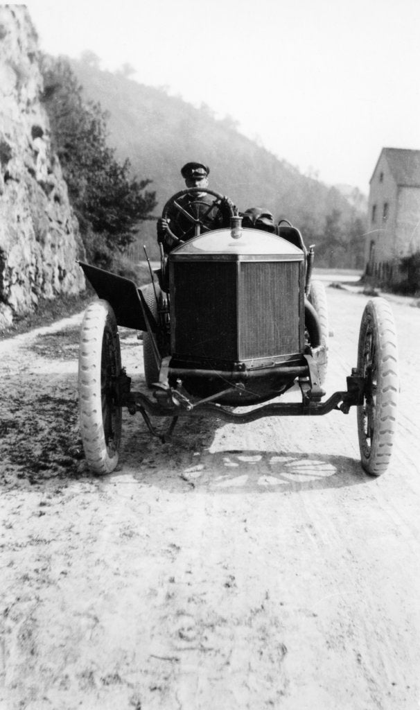 A Minerva taking part in the Circuit des Ardennes, 1907