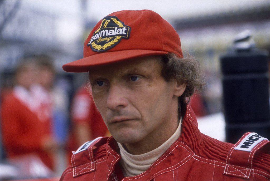 Detail of Niki Lauda by Anonymous