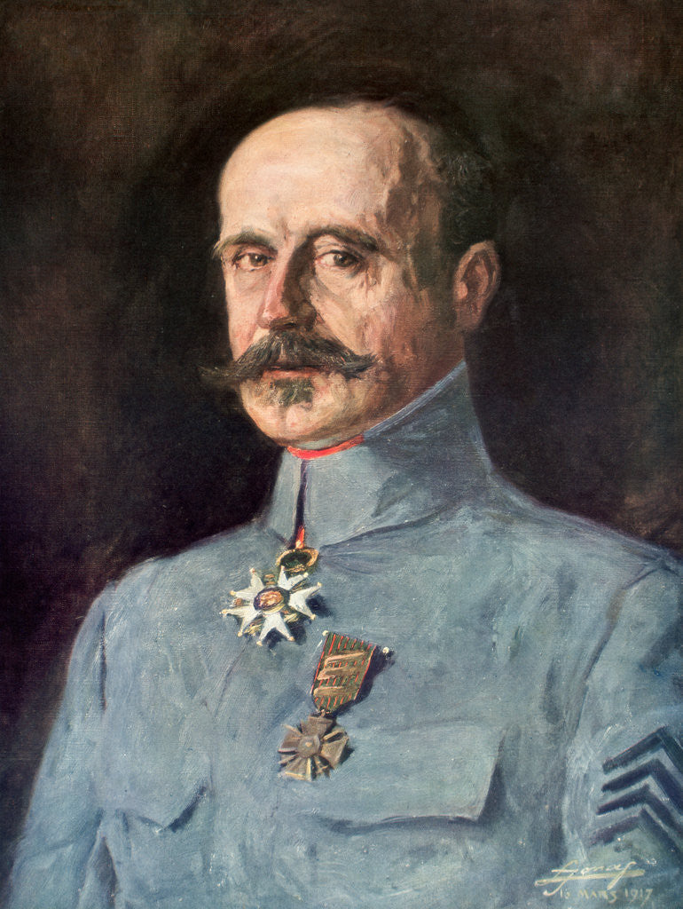 Detail of Marie-Eugene Debeney, French First World War general by Anonymous