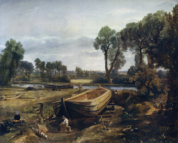 Boat Building Near Flatford Mill Posters Amp Prints By John