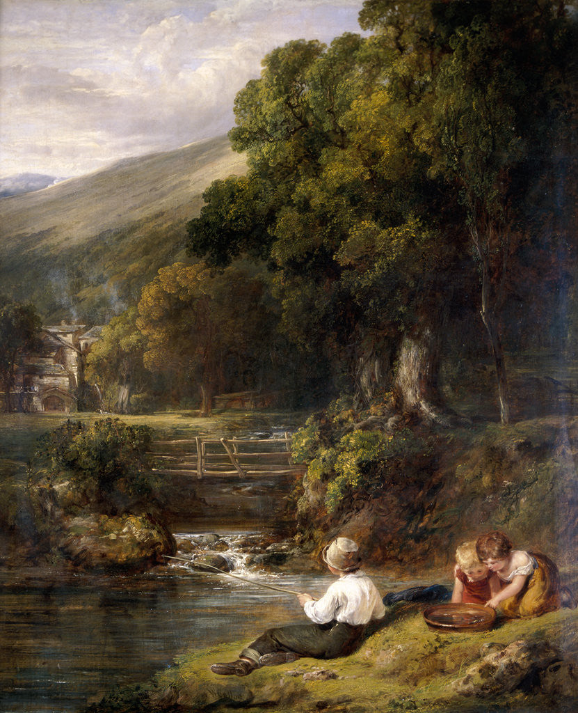 Detail of Borrowdale by William Collins