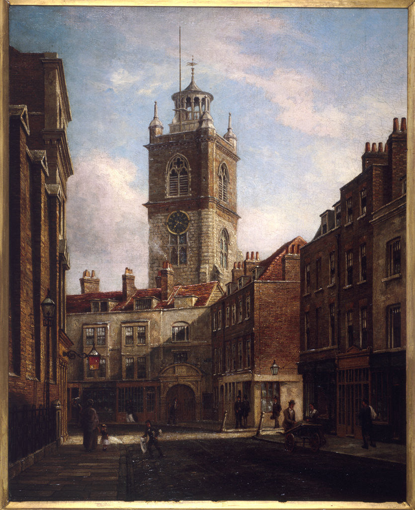 Detail of Fore Street and St Giles without Cripplegate by