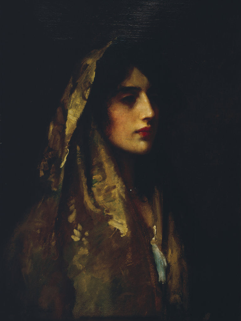 Detail of Naomi by Sir Luke Fildes