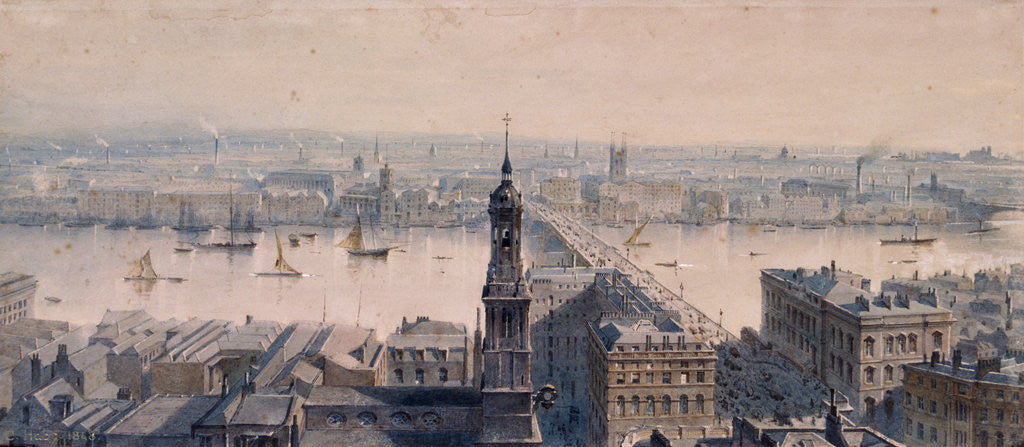 Detail of Views of London by