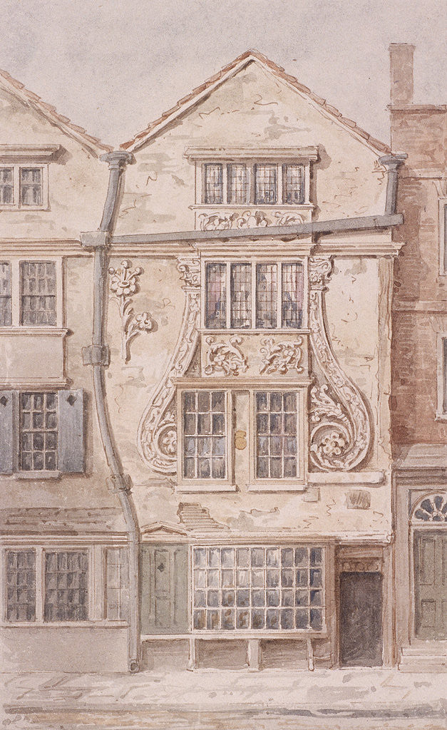 Detail of Moorfields, London by Anonymous