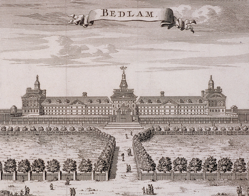 Detail of Old Bethlehem Hospital, London by Anonymous