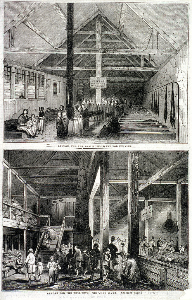 Detail of The Whitecross Street Prison for debtors, London by