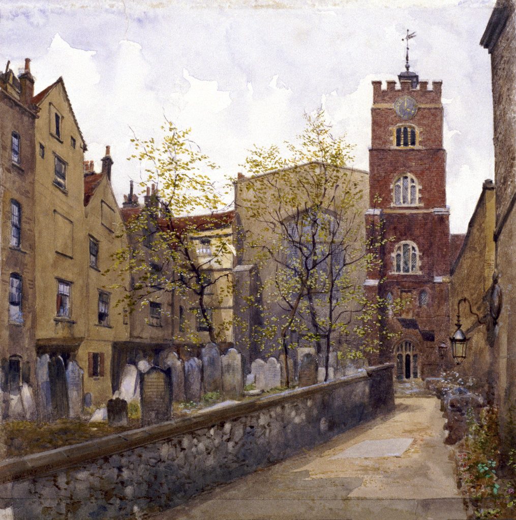 St Bartholomew's Priory, London by John Crowther
