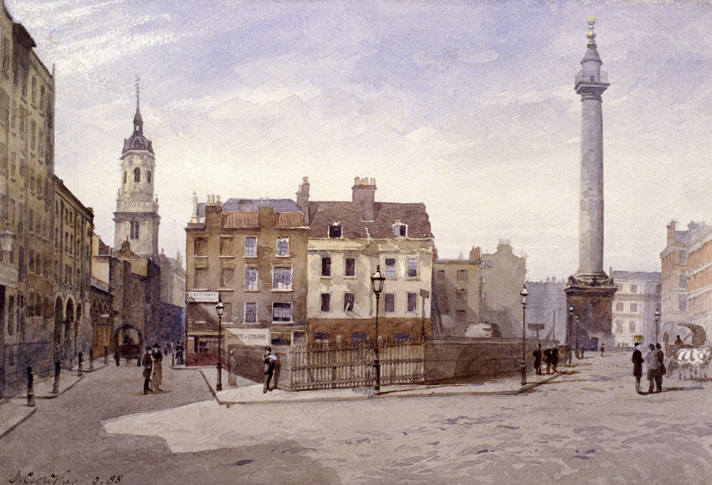 Billingsgate, London by John Crowther