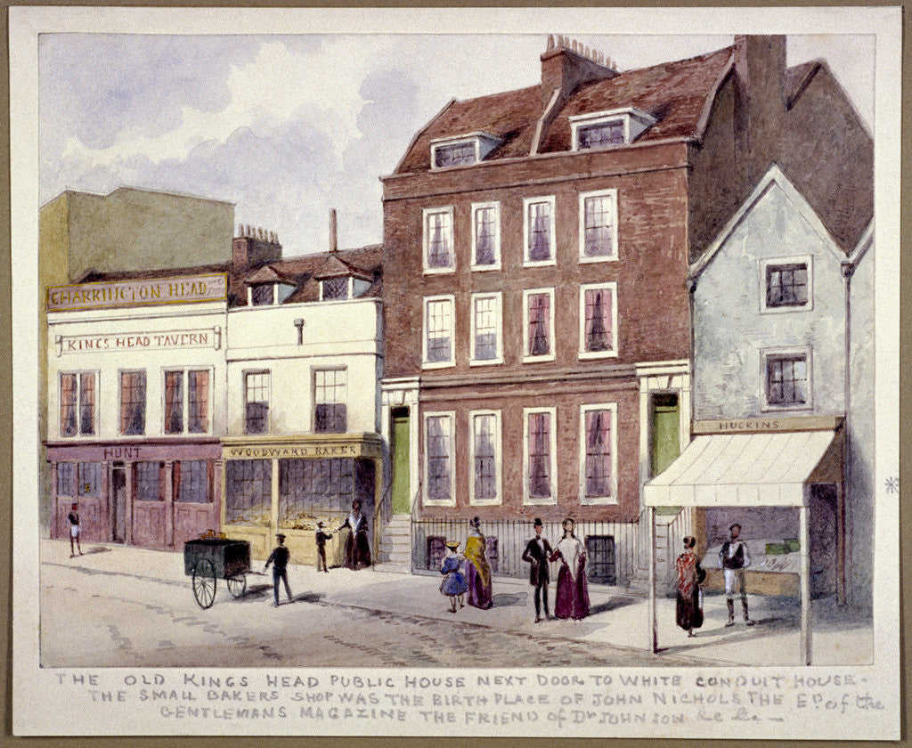 King's Head' Public House, Pentonville. Islington, London by Anonymous