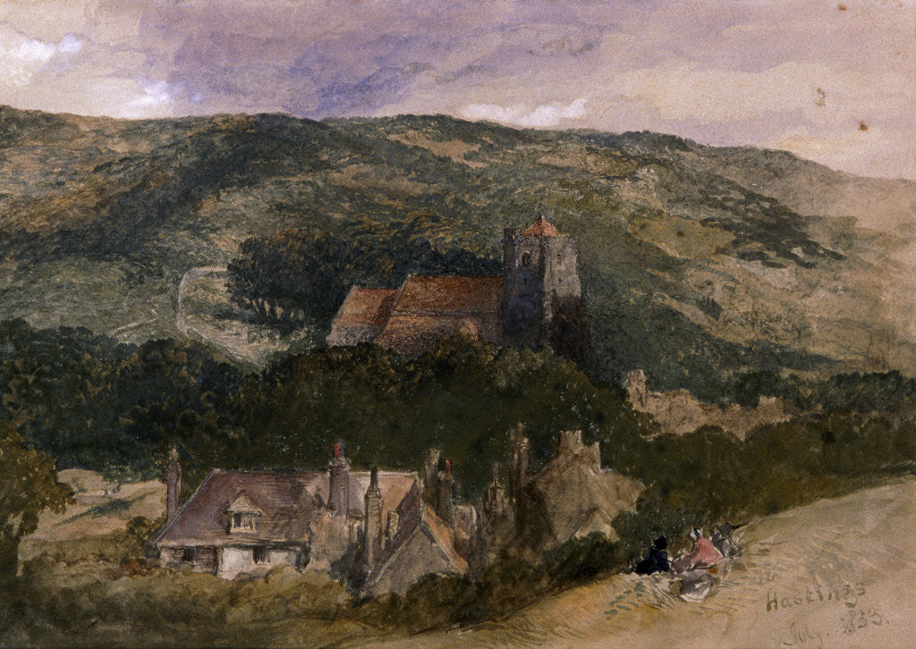 View at Hastings by Sir John Gilbert