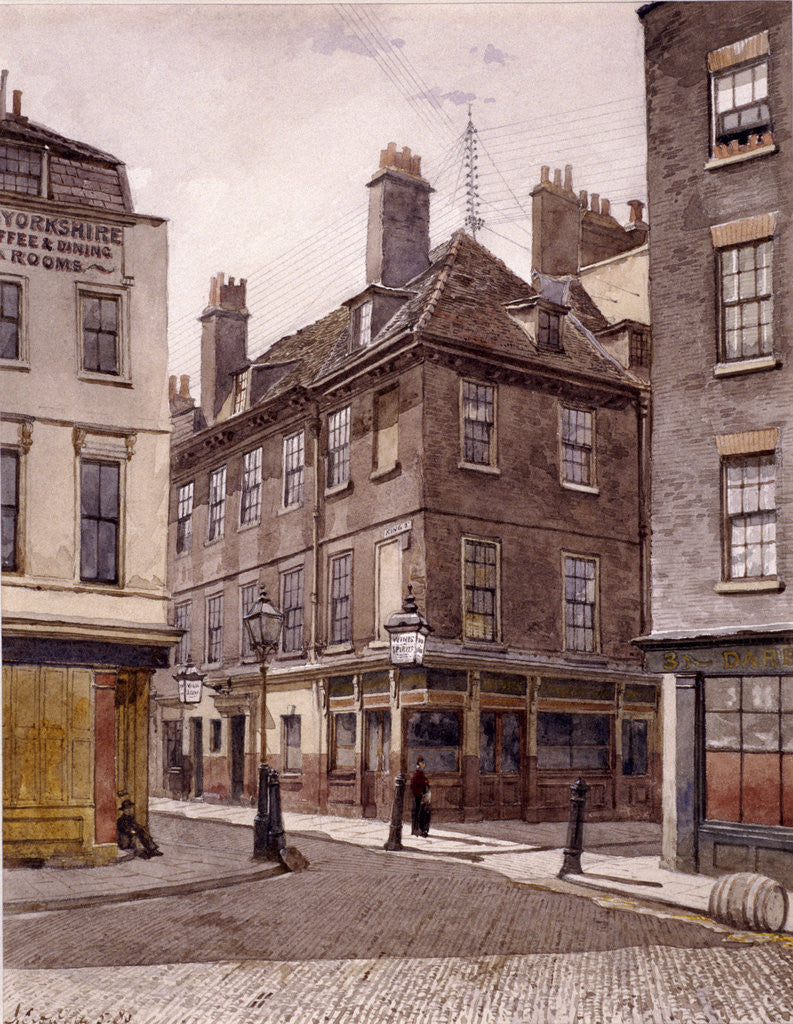 Detail of King Street, Stepney, London by John Crowther