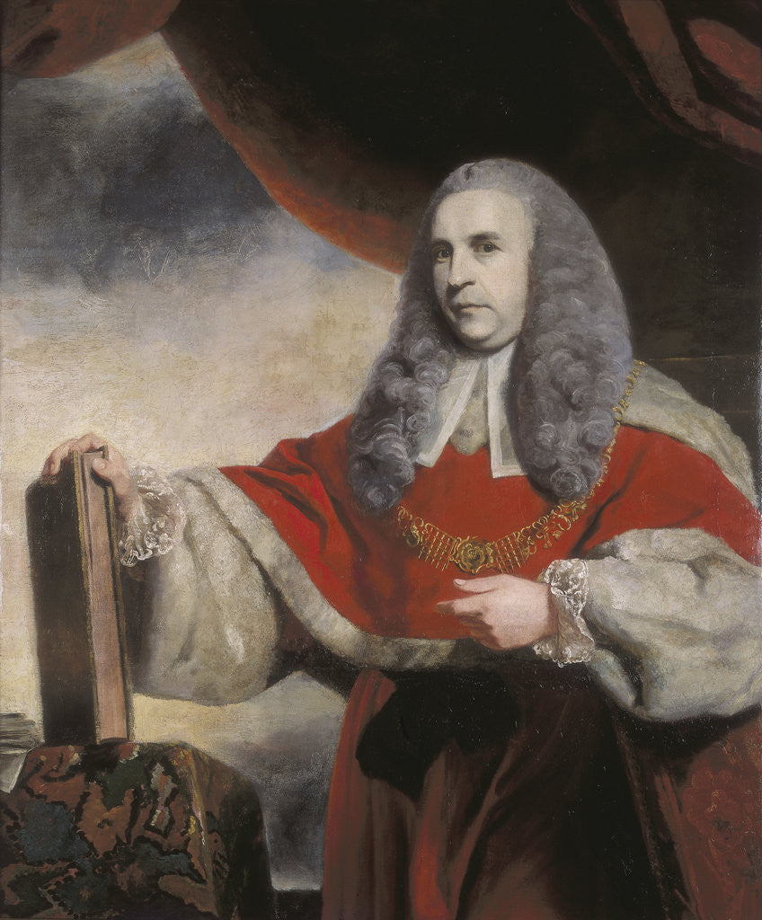 Sir Charles Pratt. 1764 by Sir Joshua Reynolds