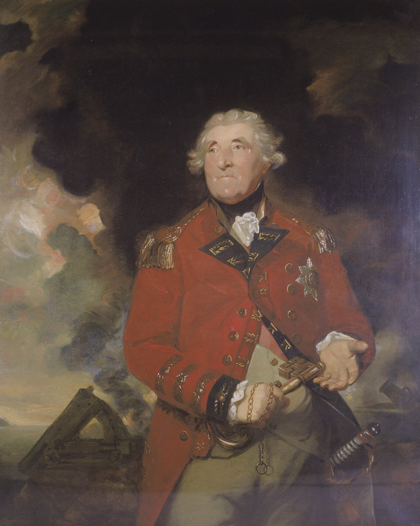 Detail of Lord Heathfield. c1809 by