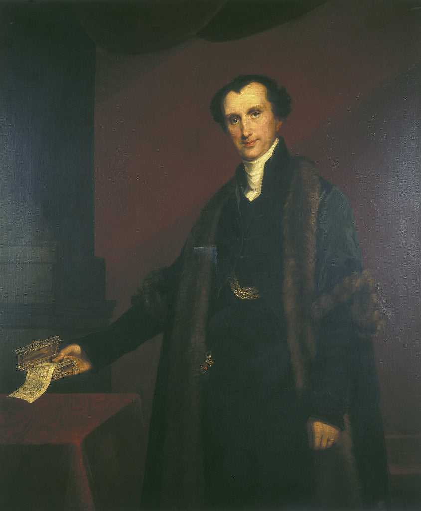 Sir James Shaw. 1834 by Mary Martha Pearson