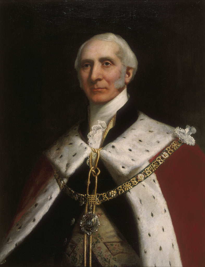 Detail of Sir David Salomans. c1856 by Solomon Alexander Hart