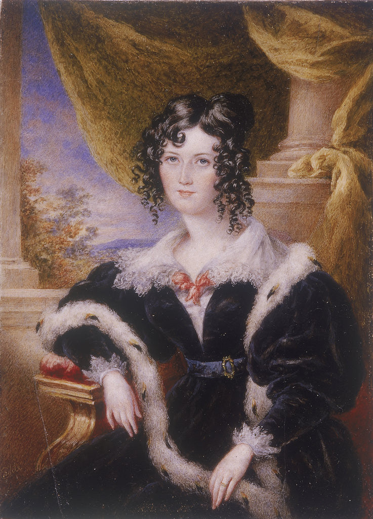 Detail of Mary Ann Paton by James Warren Childe