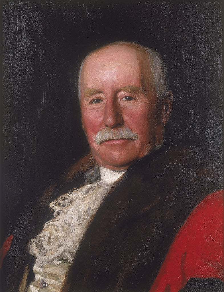 Detail of Sir Frederick Prat Alliston by Charles Haigh Wood