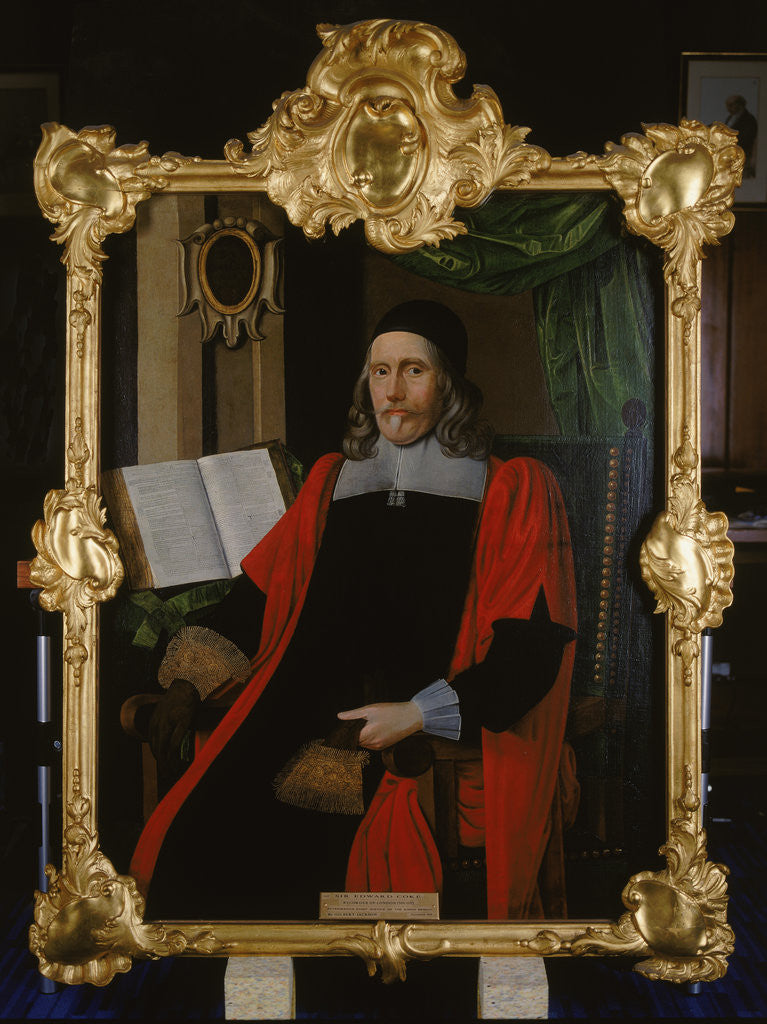 Detail of Sir Edward Coke, Recorder of London by