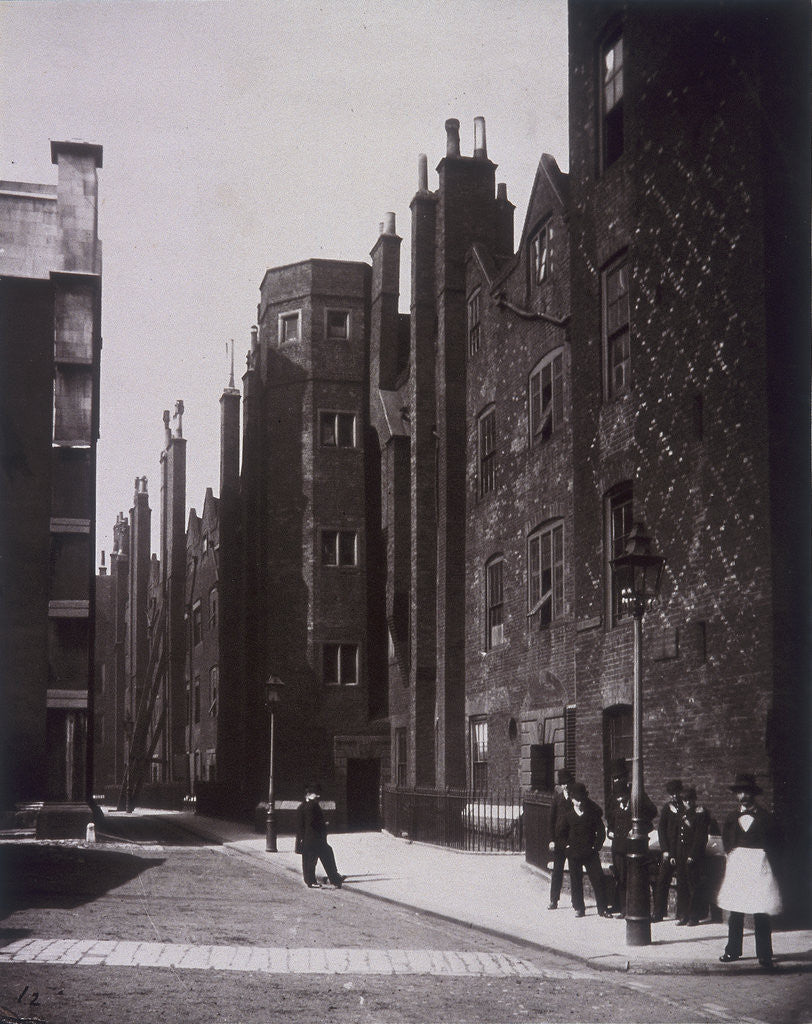 Lincoln's Inn, Old Square, Holborn, London by Henry Dixon