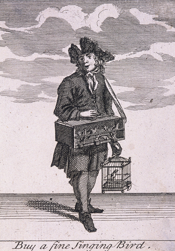 Buy a fine Singing Bird, Cries of London, (c1688?) by Anonymous