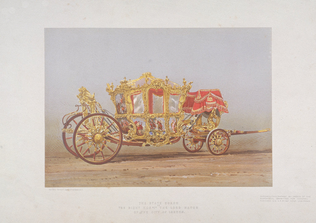 Detail of Lord Mayor's Coach by