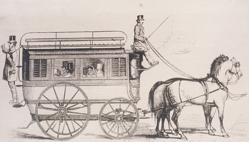 Detail of London General Omnibus by Anonymous