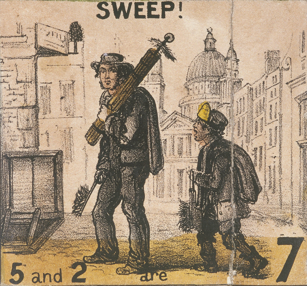 Detail of Sweep!, Cries of London by TH Jones
