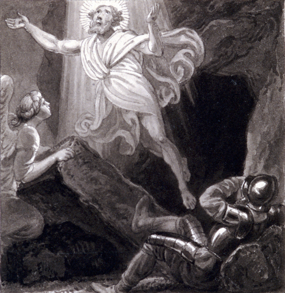 Detail of The Resurrection' by Henry Corbould