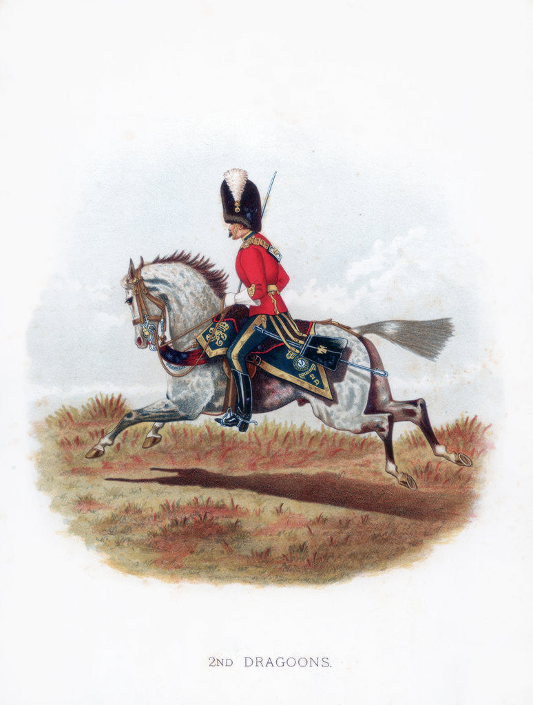 Detail of 2nd Dragoons by Anonymous