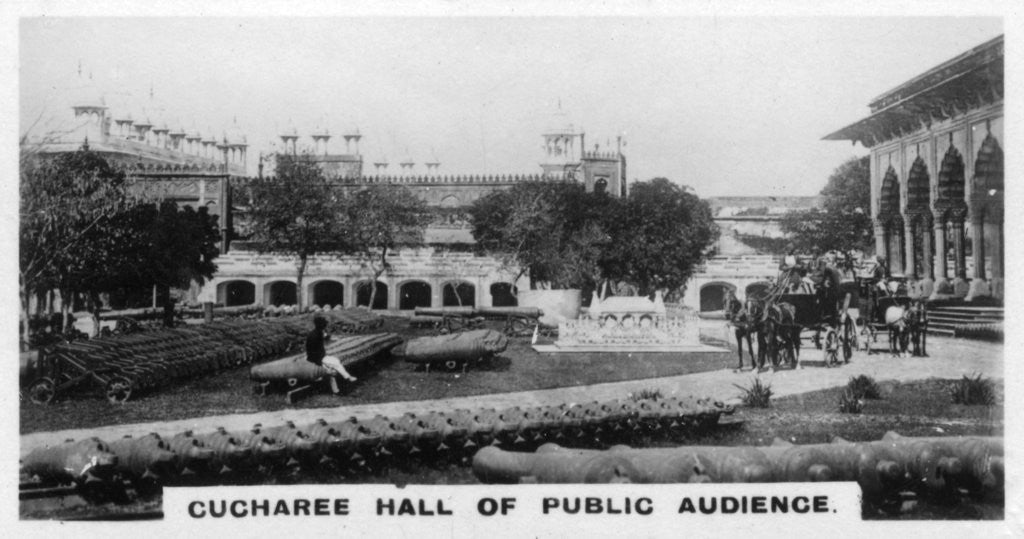 'Cucharee Hall of Public Audience', Agra, India by Anonymous