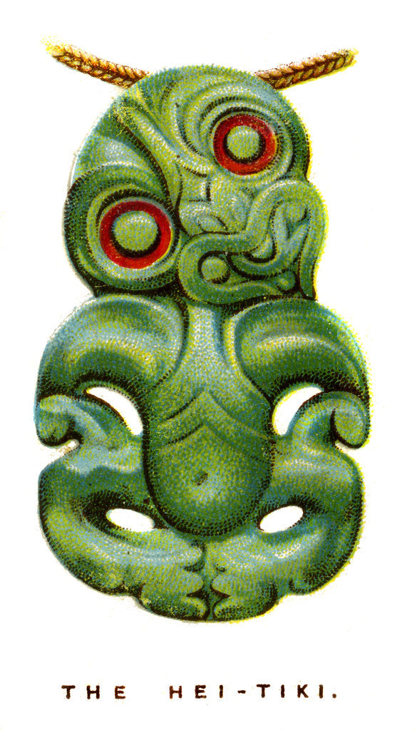 Detail of The Hei-Tiki by Anonymous