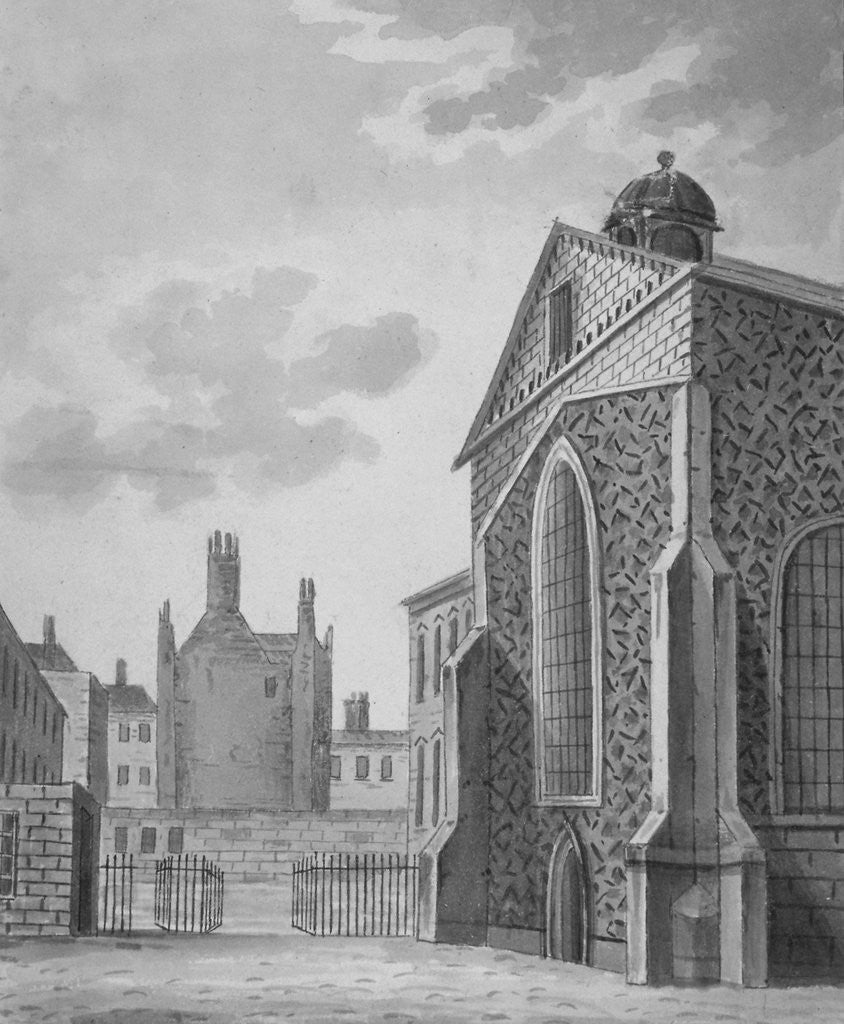 Detail of Rolls Chapel, Chancery Lane, City of London by Anonymous
