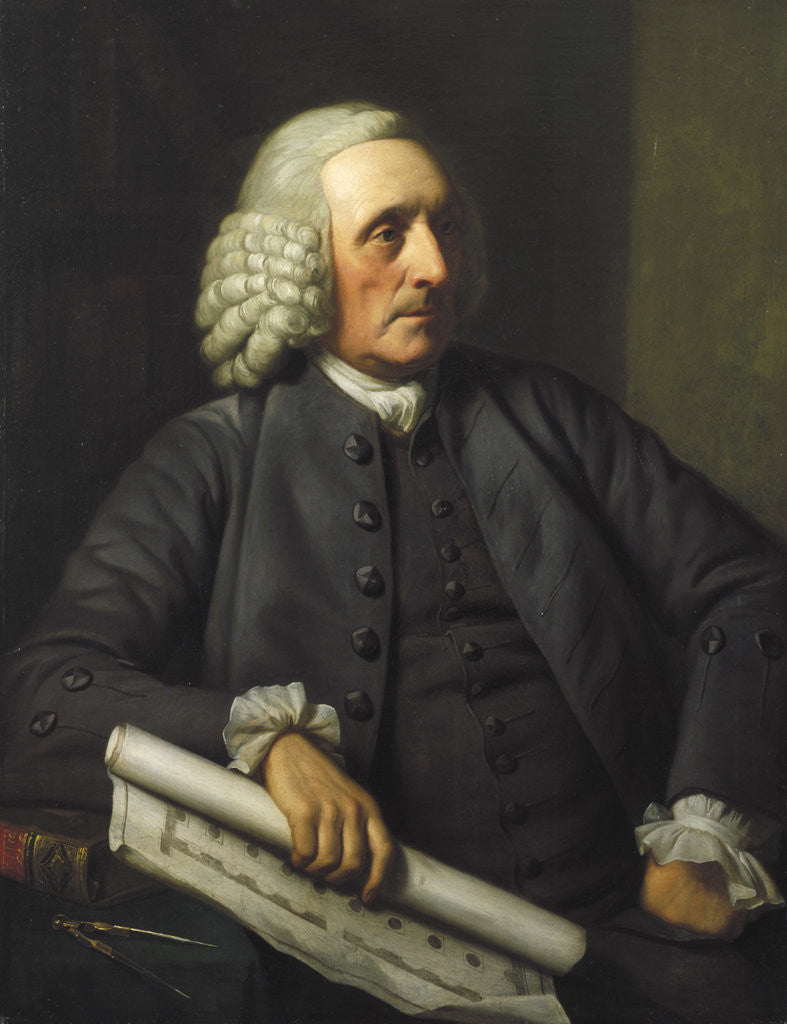 George Dance by Nathaniel Dance-Holland