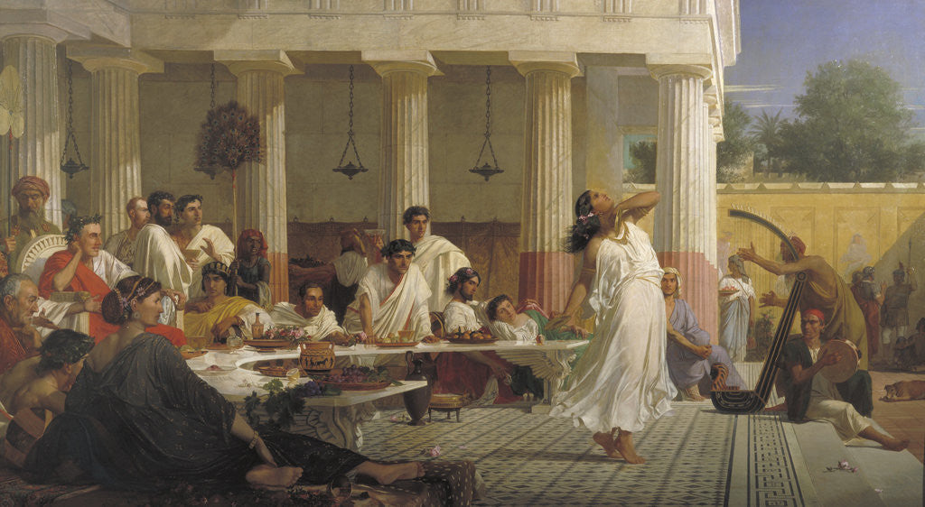 Herod's birthday feast by Edward Armitage
