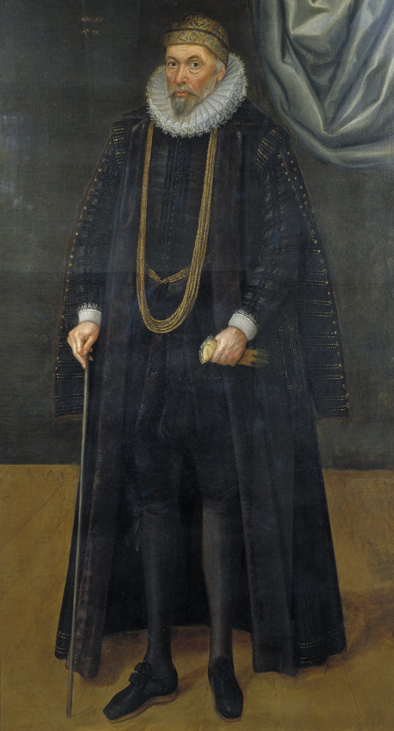 Detail of Sir John Garrard, Lord Mayor in 1601 by