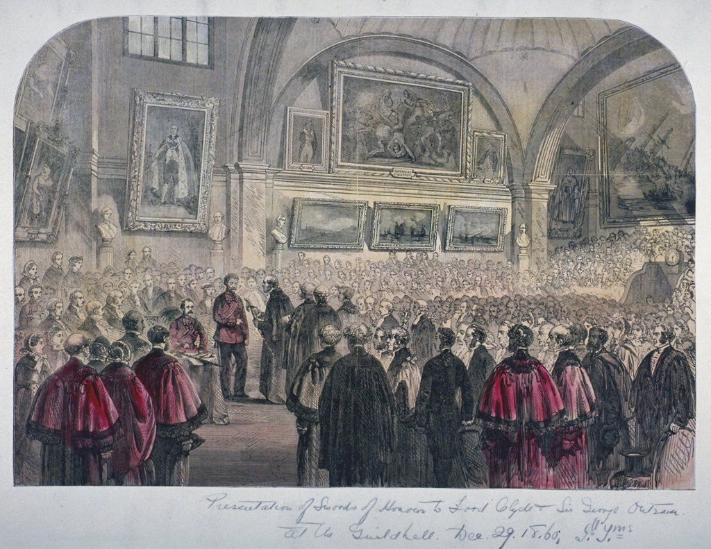 Detail of Guildhall Council Chamber, City of London by Anonymous