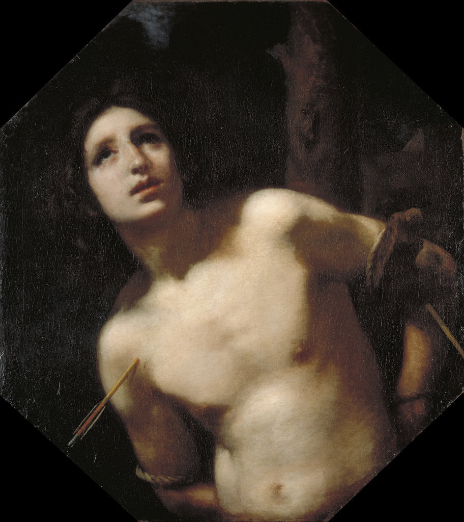 Detail of St Sebastian by Francesco Furini