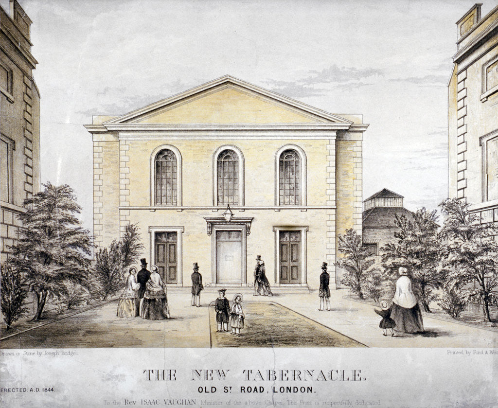 Detail of The Tabernacle, Old Street, Finsbury, London by Ford and West