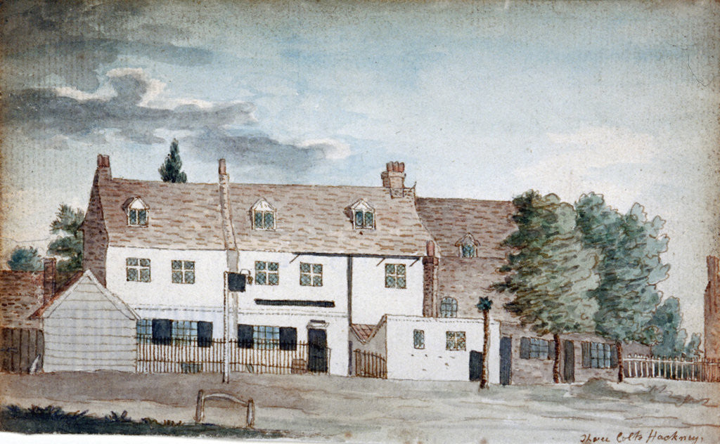 Detail of The Three Colts Inn, Hackney, London by Henry Vaughan